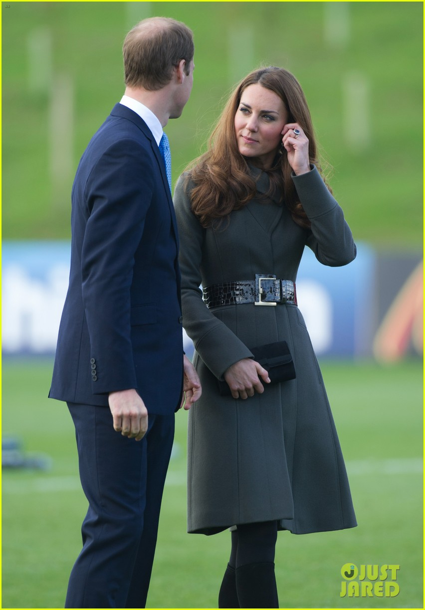 duchess kate prince william st georges park opening 15