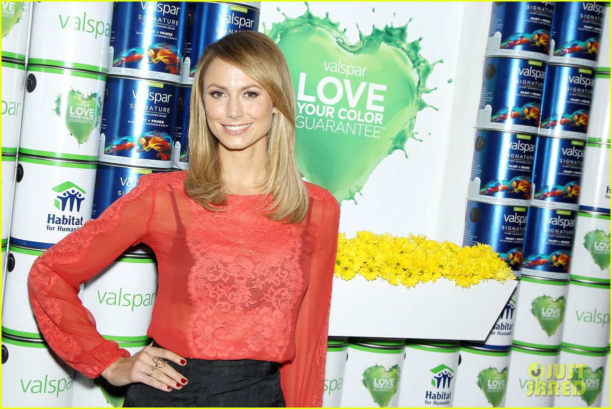 stacy keibler valspar love your color project 08