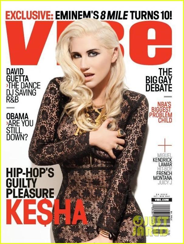 kesha covers vibe november 2012 01