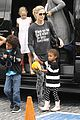heidi klum sunday fun with  the kids 14