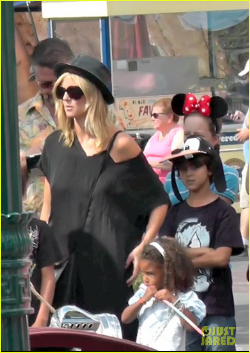 heidi klum soccer game with family 342738502