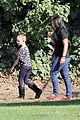 heidi klum soccer game with family 19