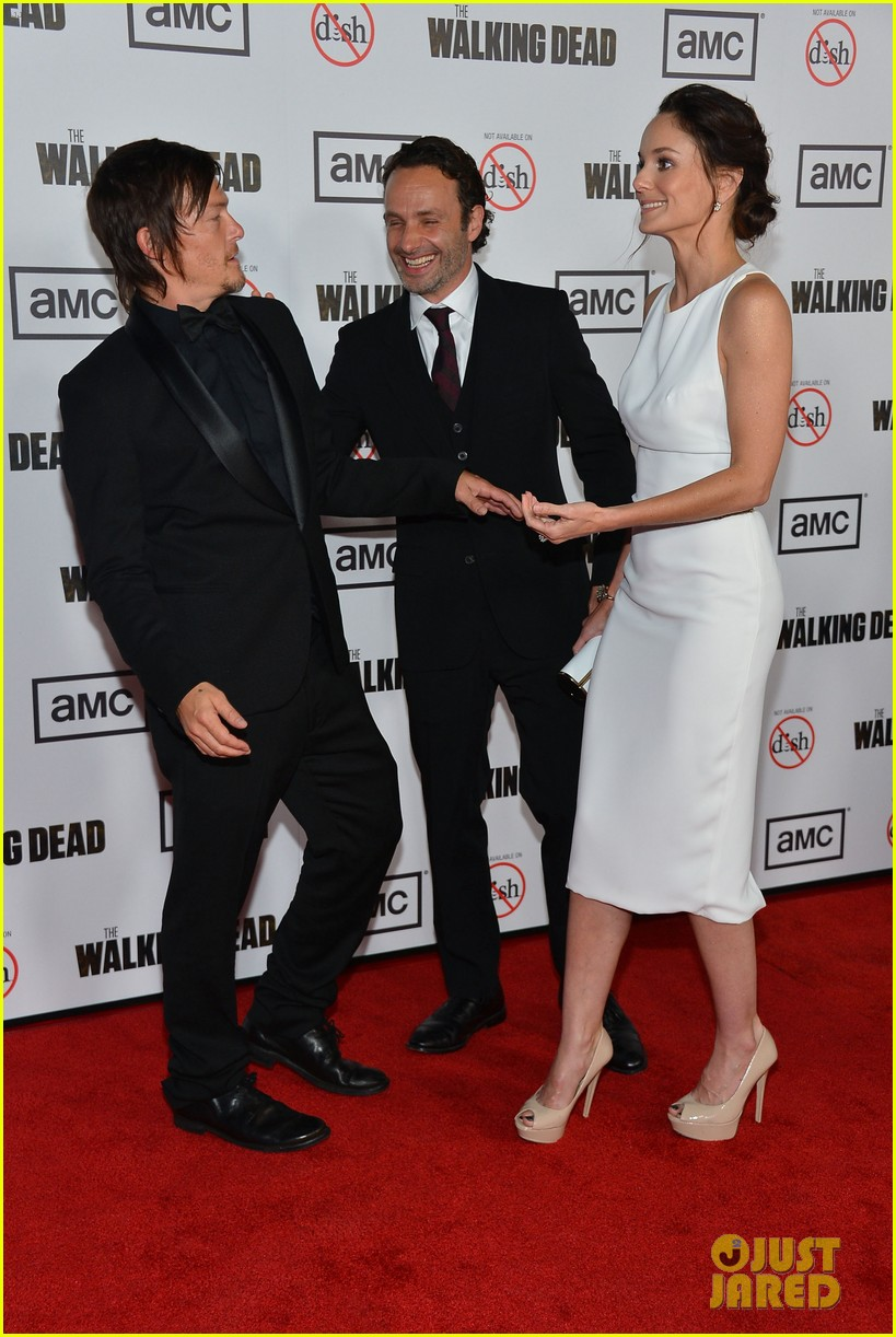 Full Sized Photo Of Andrew Lincoln Sarah Wayne Callies