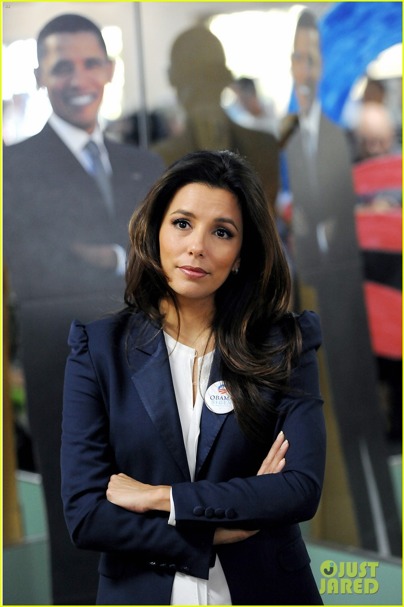eva longoria campaigns for obama in west palm beach 02