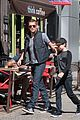 james marsden east village coffee run with son jack 03