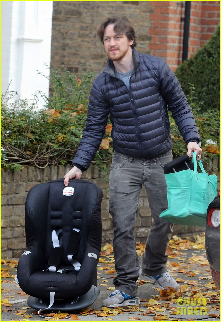 james mcavoy rainy london afternoon 042739290