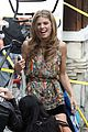 annalynne mccord camera phone fun on 90210 set 04