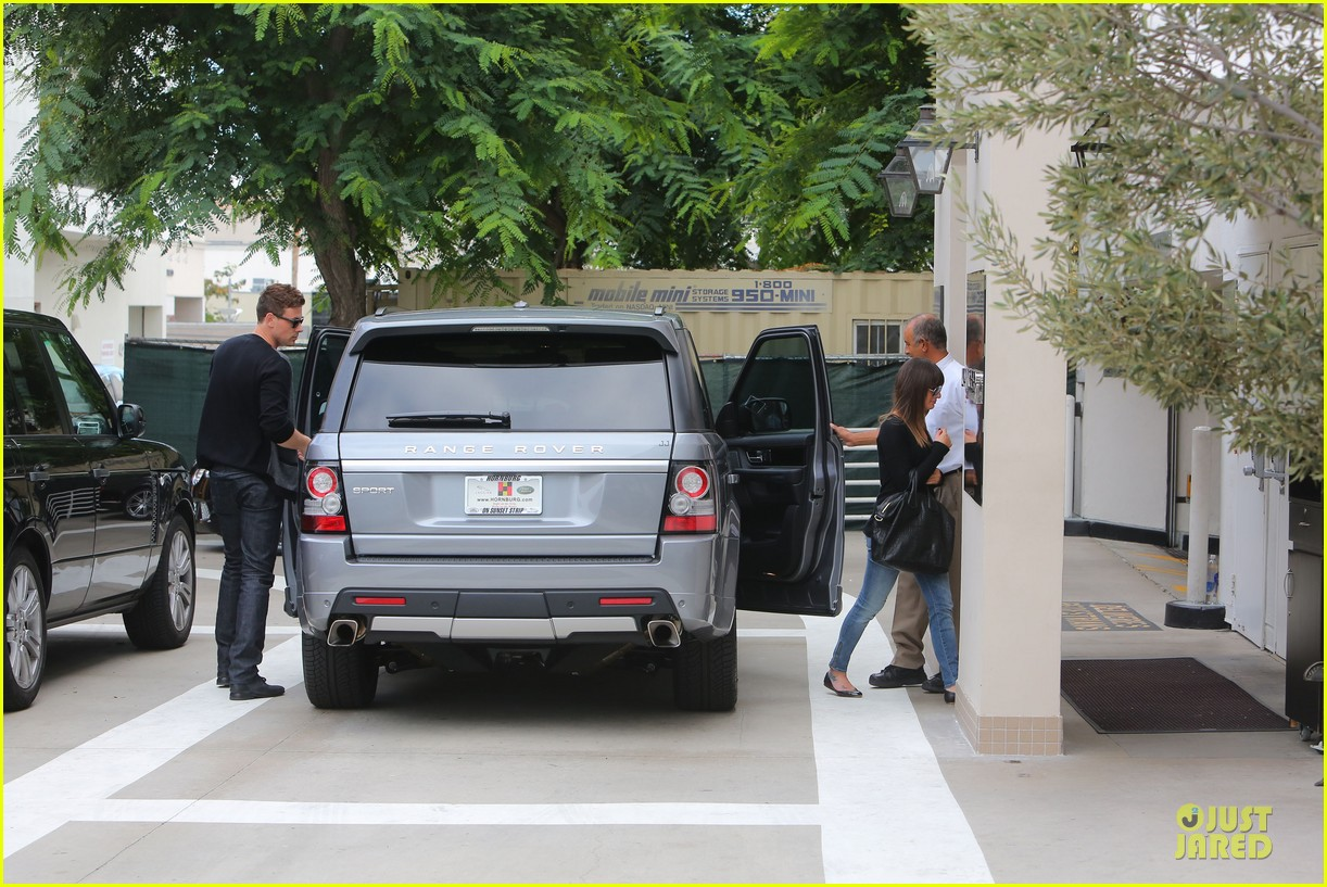 lea michele cory monteith shopping together in beverly hills 10
