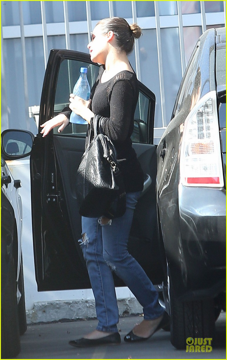 lea michele first solo album recording session 05