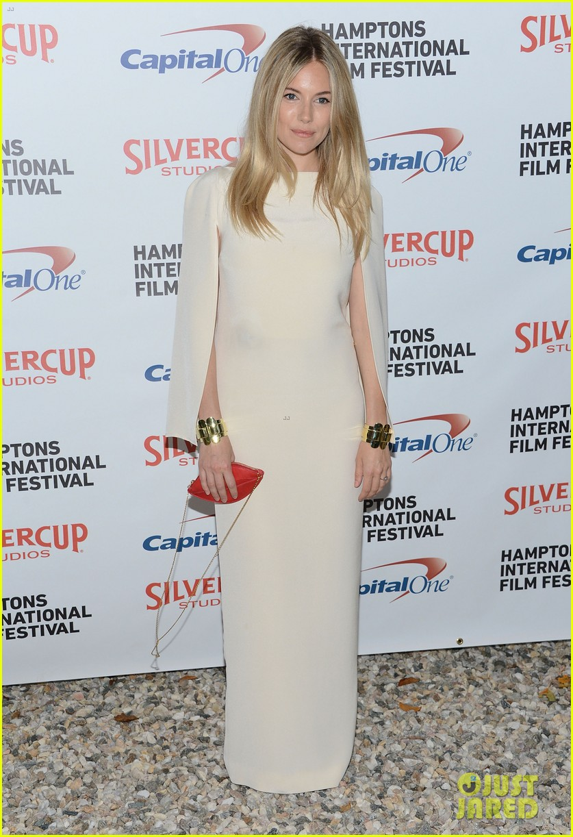 sienna miller hamptons film festival with toby jones 01