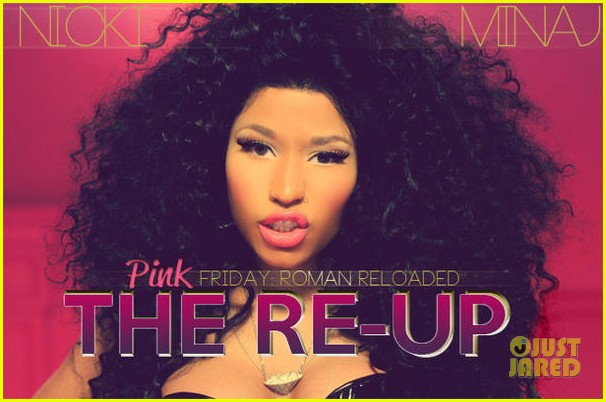 nicki minaj pink friday the re up cover art 012736515
