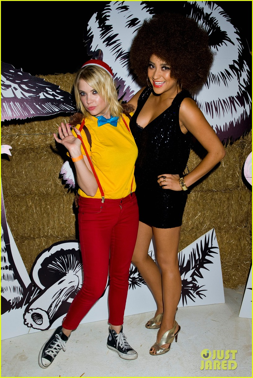 shay mitchell just jared halloween party 2012 10