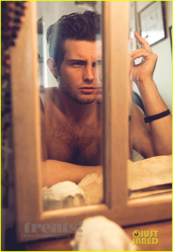 nico tortorella shirtless treats magazine feature 05