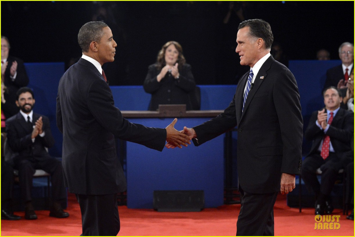 barack obama mitt romney second presidential debate 17