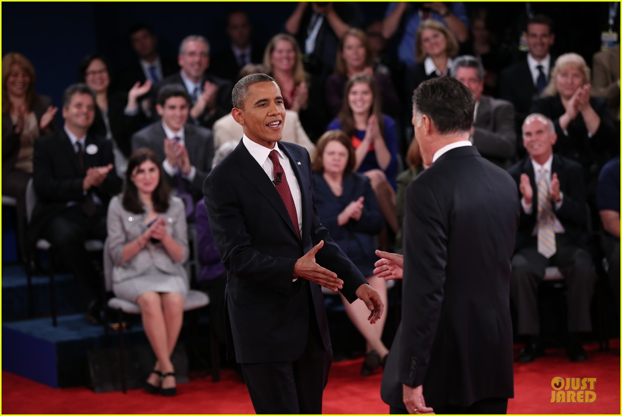 barack obama mitt romney second presidential debate 25