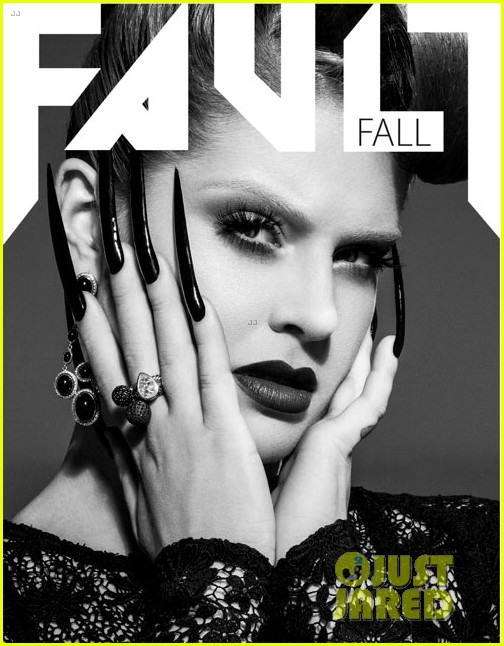 kelly osbourne covers fault magazine fall 2012 05