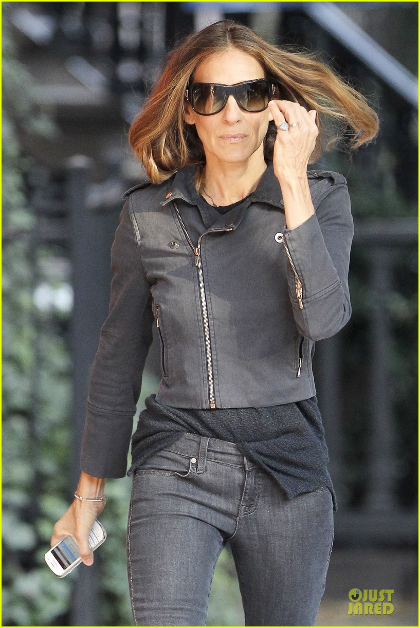sarah jessica parker school walk with james marion tabitha 04