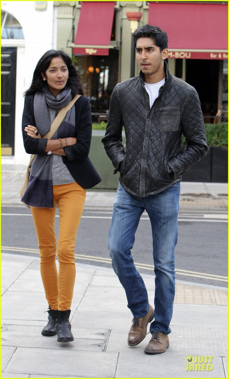 dev patel london stroll with gal pal 01