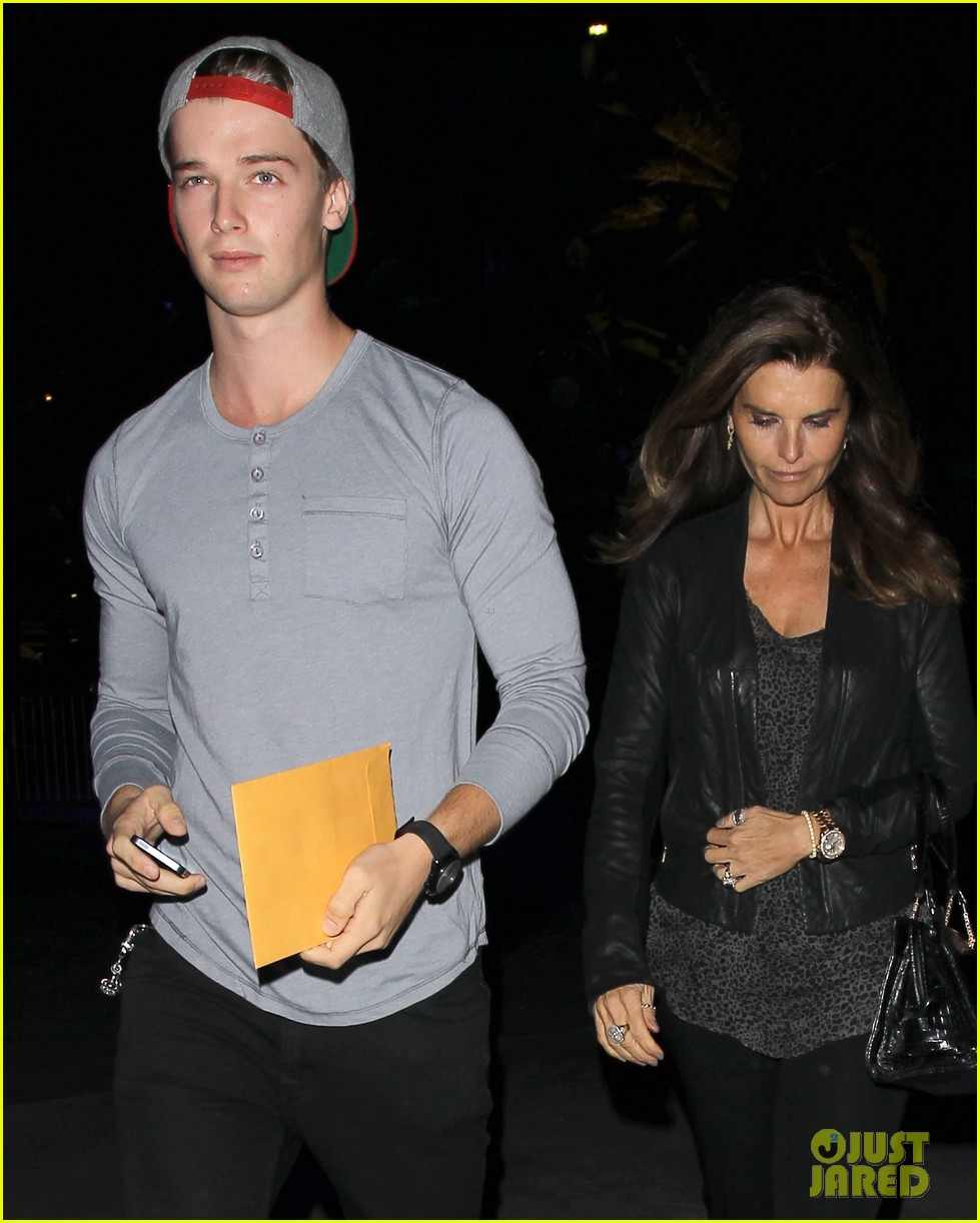 patrick schwarzenegger lakers opening night is one of my favorite nights 03