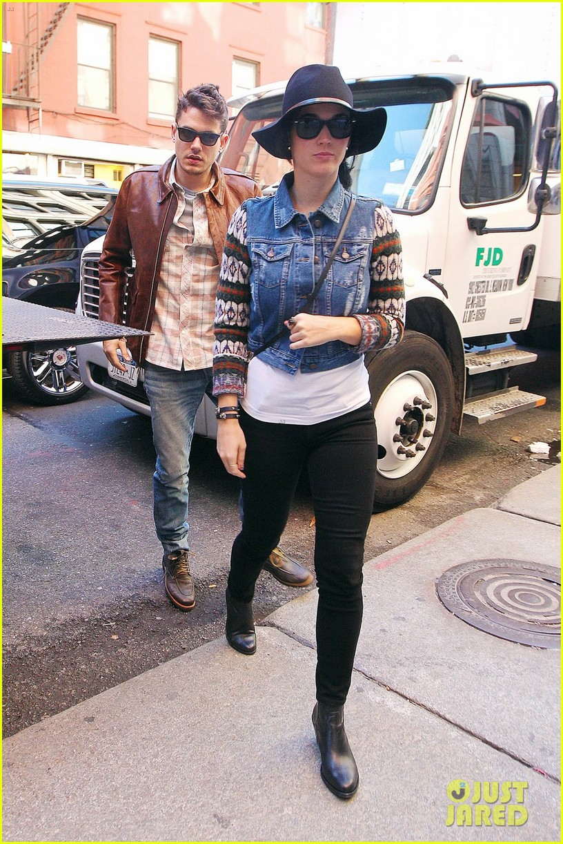 katy perry john mayer west village lunch date 07
