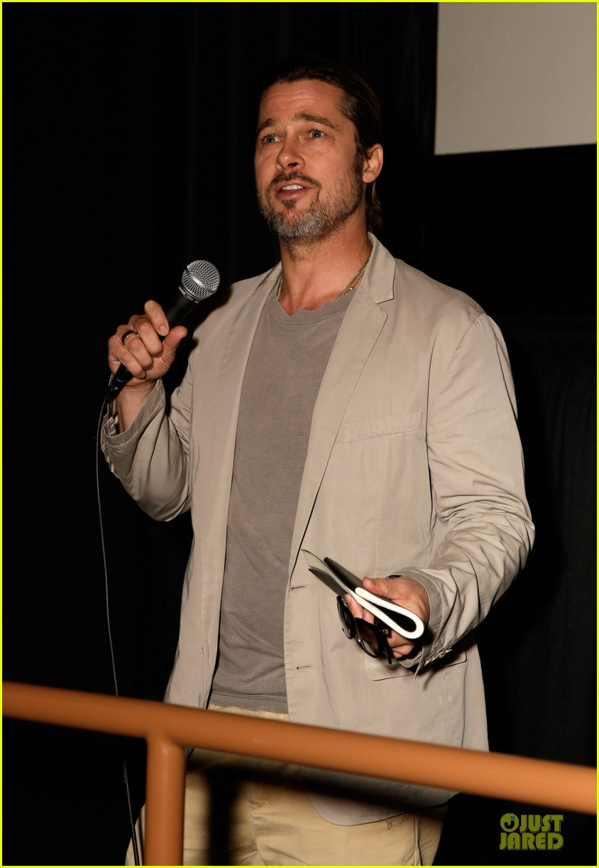 Brad Pitt: U0027The House I Live Inu0027 Los Angeles Screening!: Photo 2737455 |  Brad Pitt Pictures | Just Jared