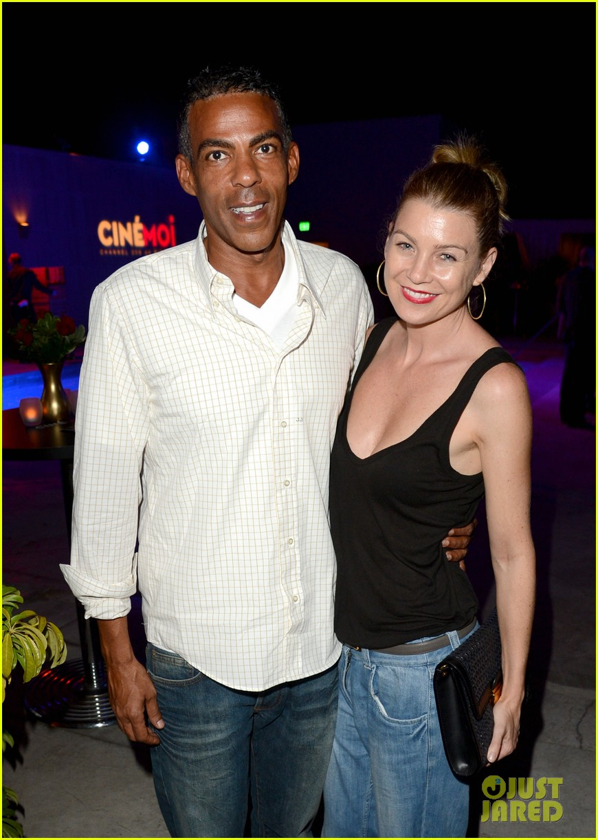 ellen pompeo cinemoi launch party with chris ivery 04
