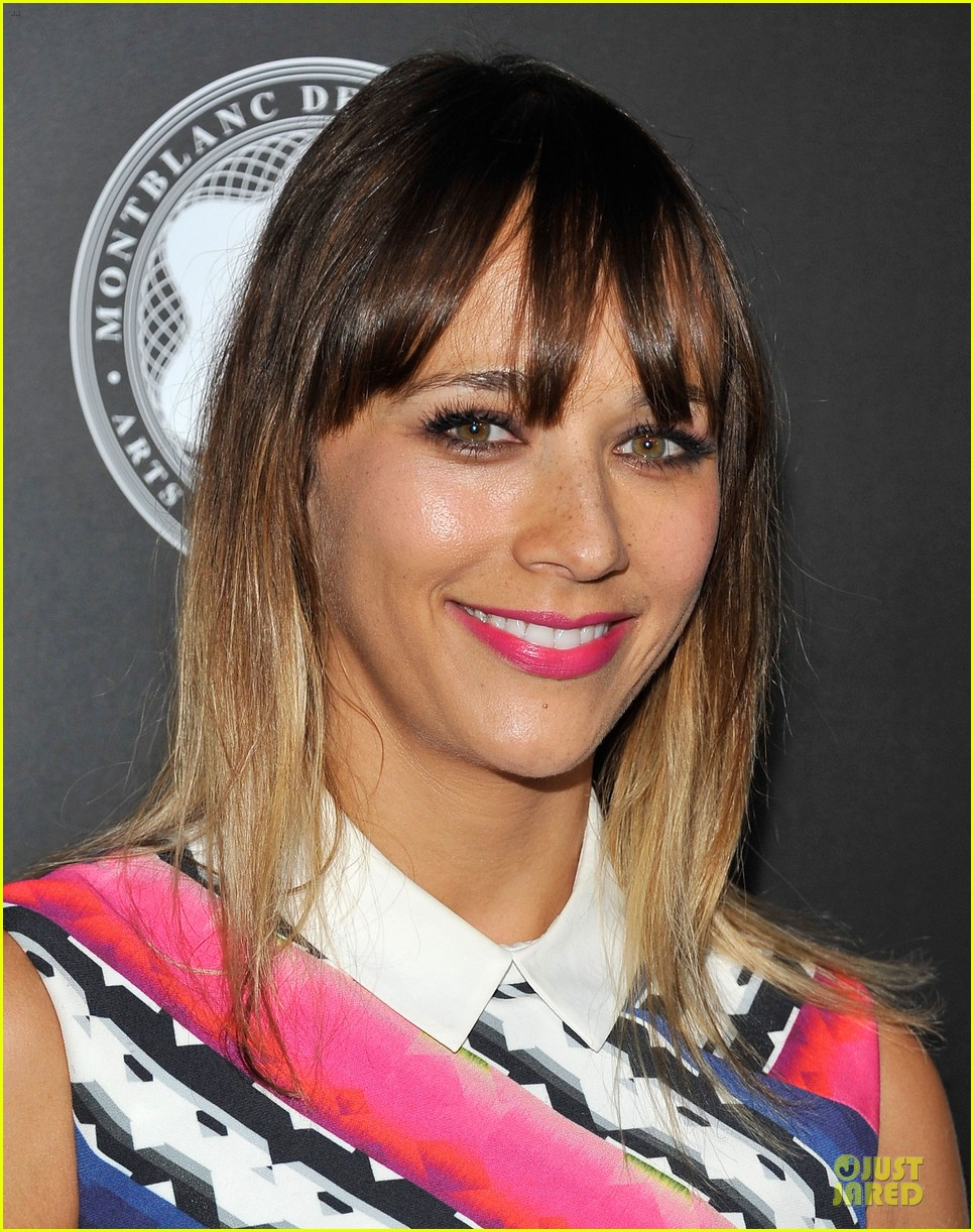 rashida jones jesse williams montblac awards 13