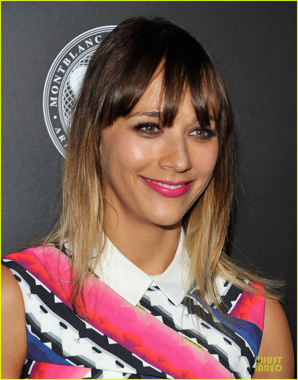 rashida jones jesse williams montblac awards 17