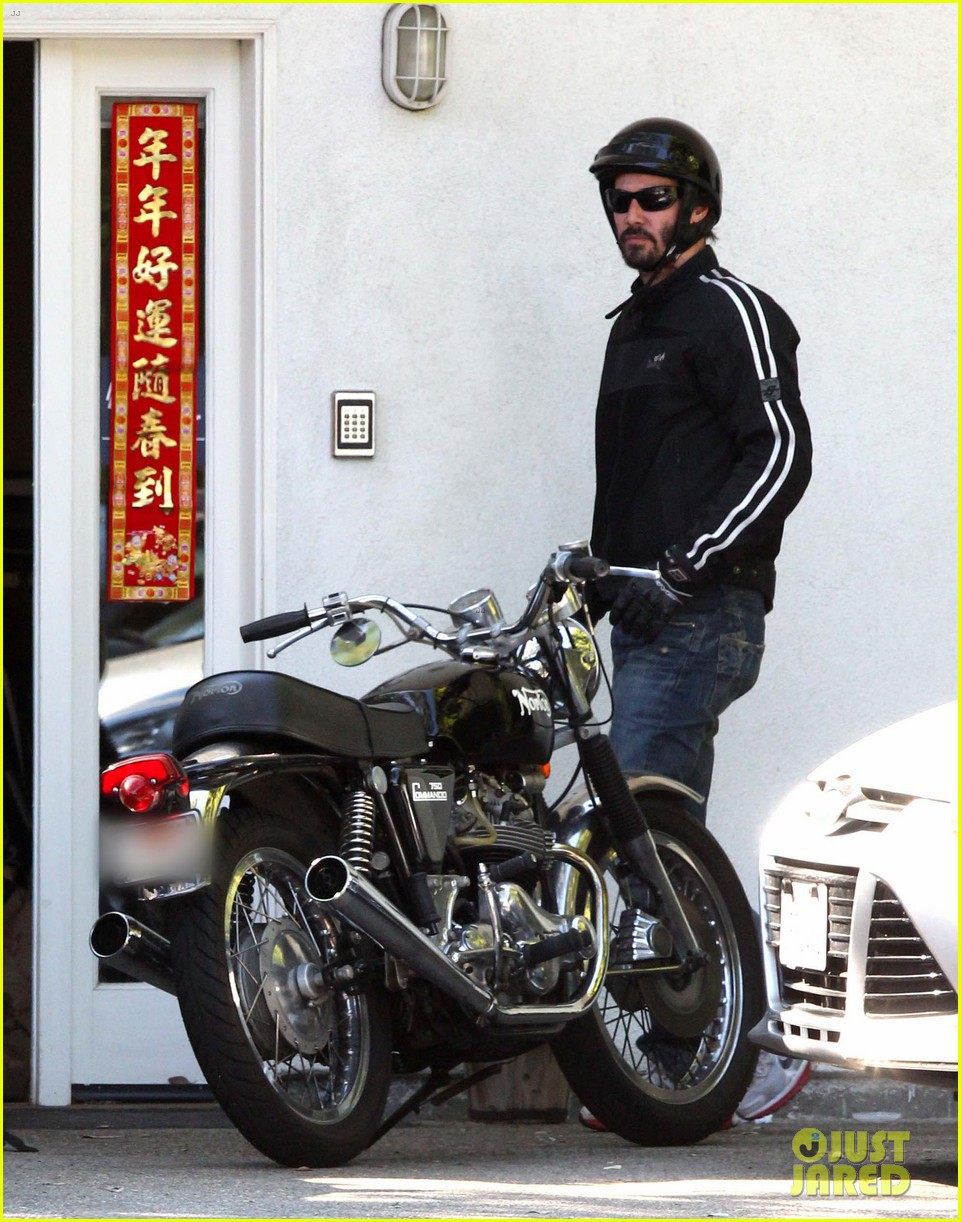 keanu reeves biker dude 042748428