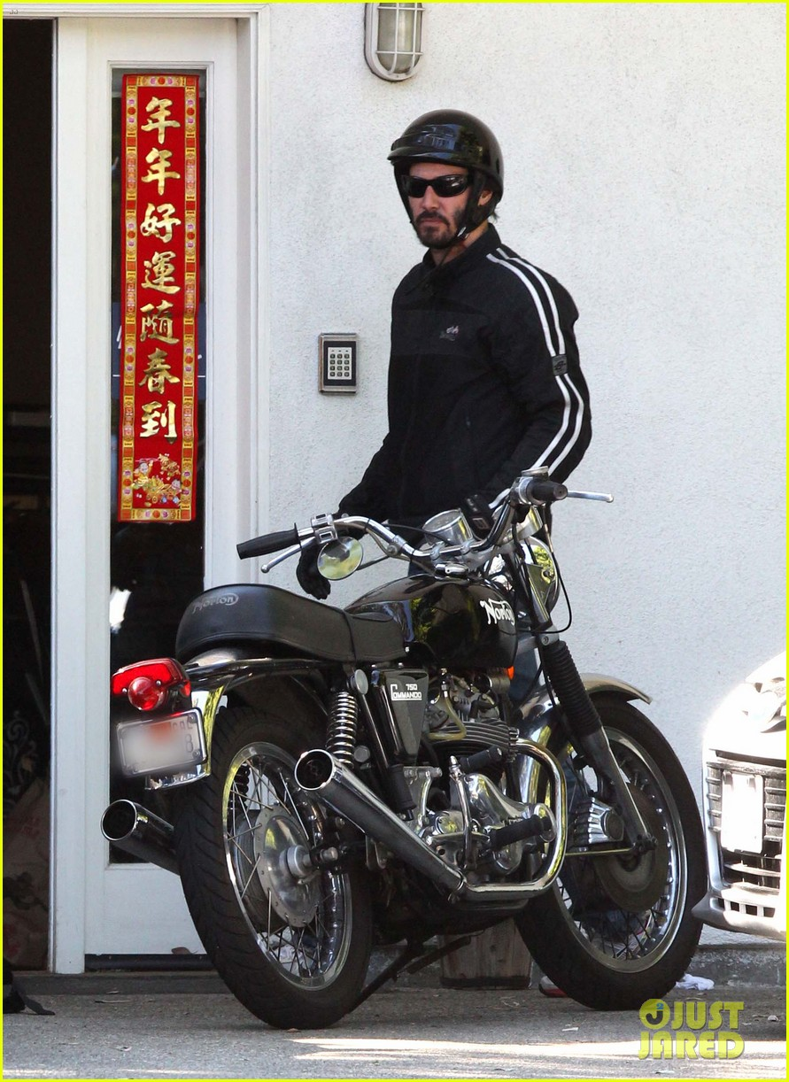 keanu reeves biker dude 05