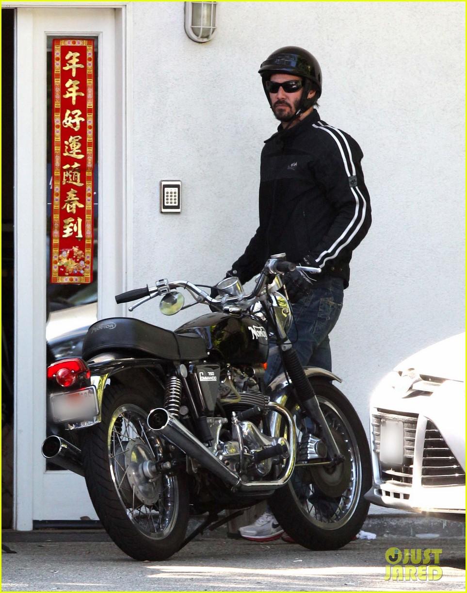 keanu reeves biker dude 07