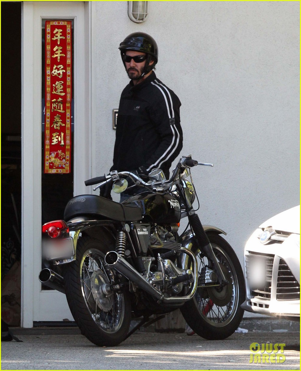 keanu reeves biker dude 092748433
