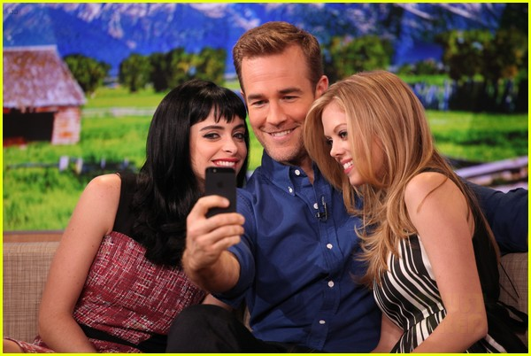 krysten ritter gma with apartment 23 co stars 02