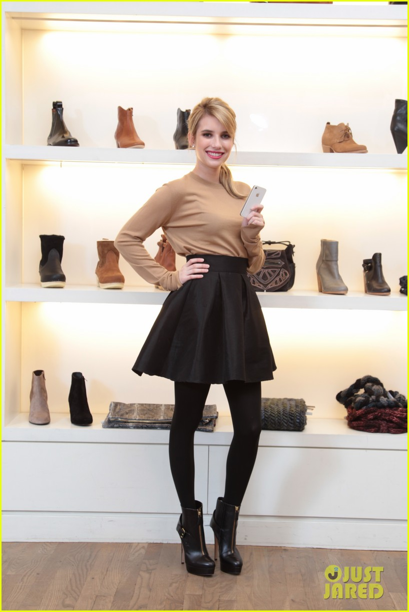 emma roberts snapettes fashion app newest advisor 07