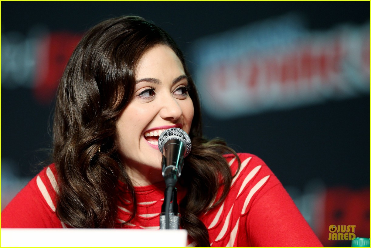 emmy rossum beautiful creatures comic con panel 19