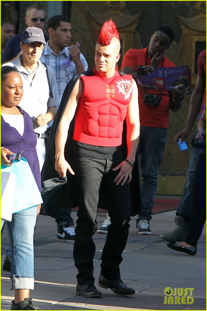 mark salling glee superhero 042731701