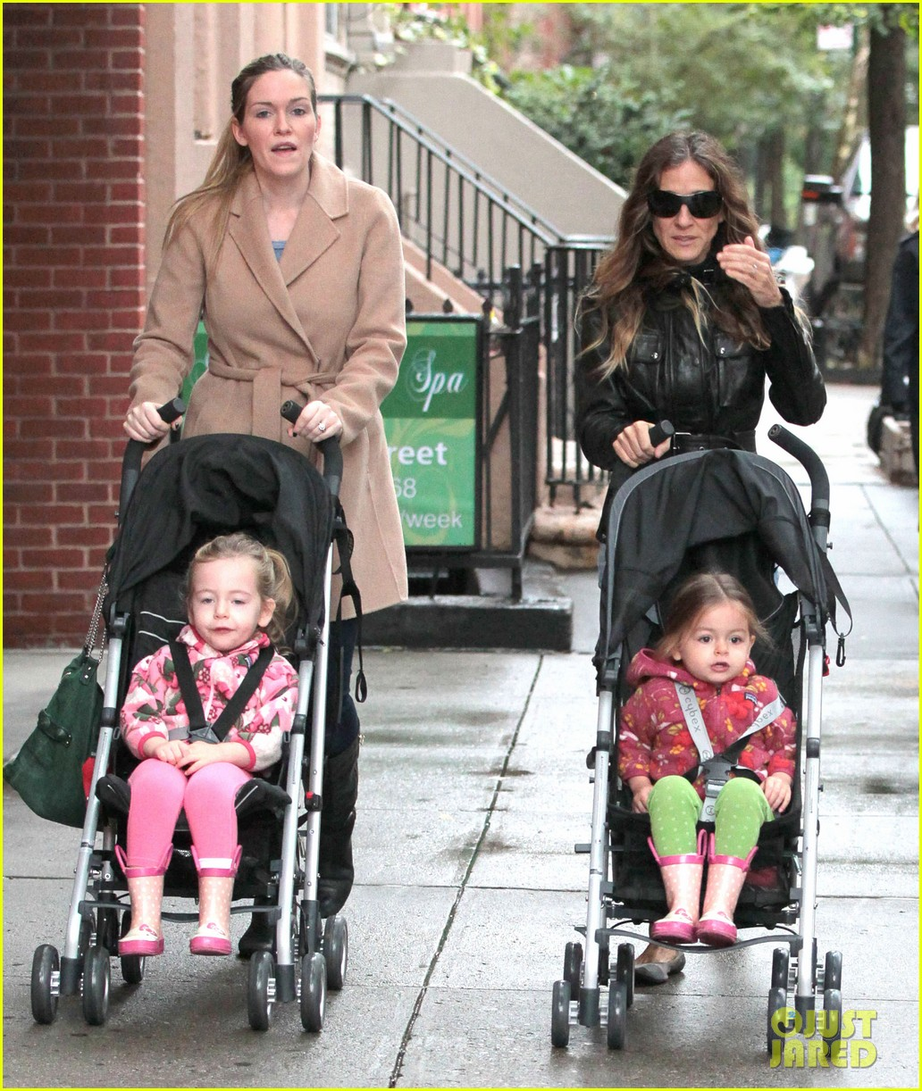 sarah jessica parker big apple morning with kids 13