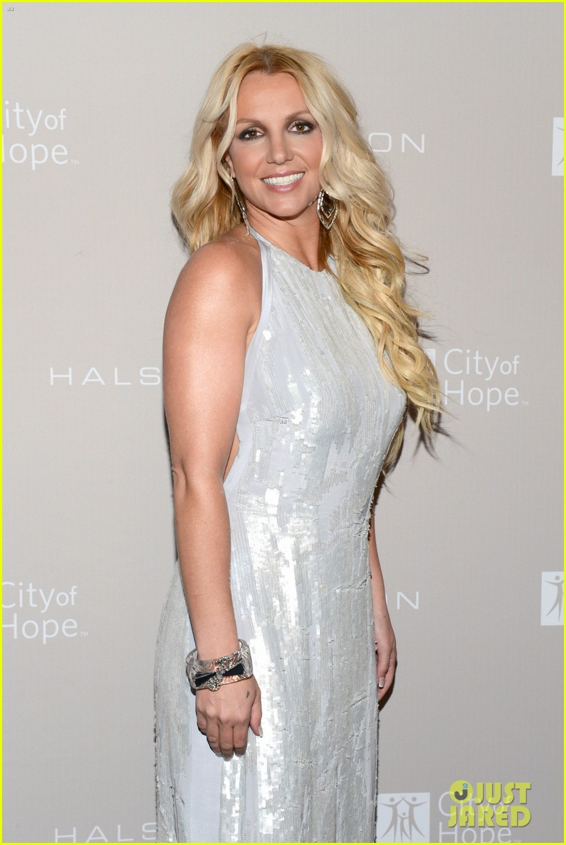 britney spears city of hope gala with jason trawick 042736365