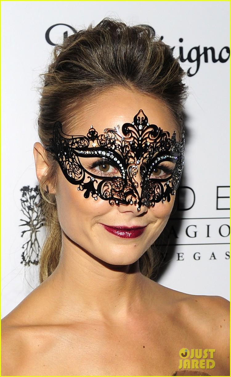 stacy keibler halloween masquerade host 142746785