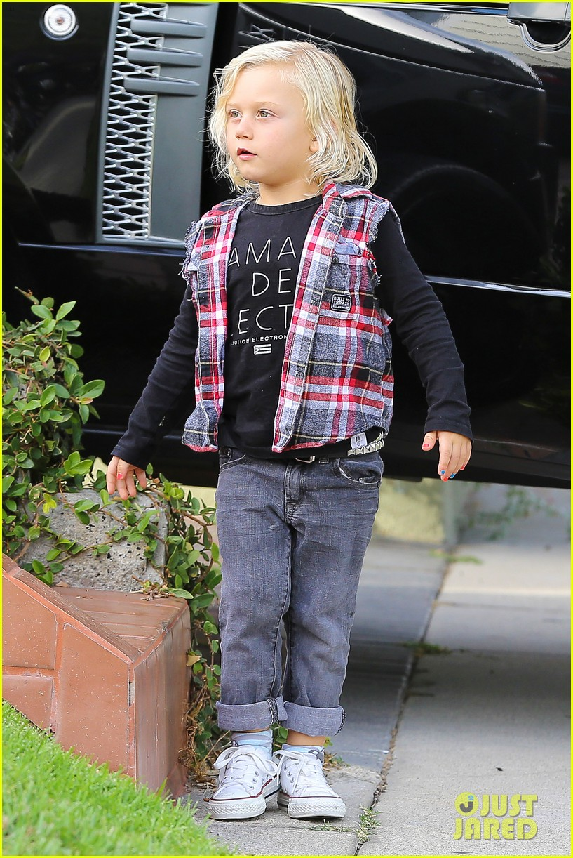 gwen stefani birthday party with kingston zuma 04