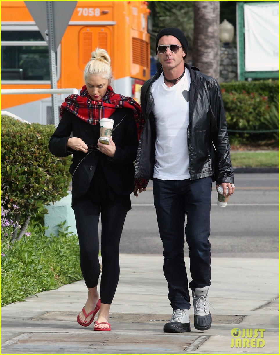 gwen stefani gavin rossdale coffee run studio city 01