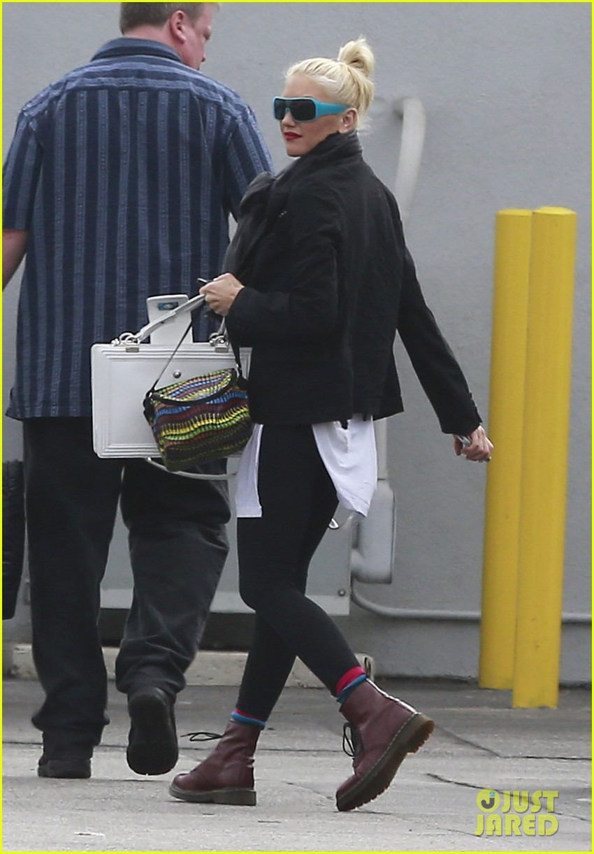 gwen stefani gavin rossdale coffee run studio city 07