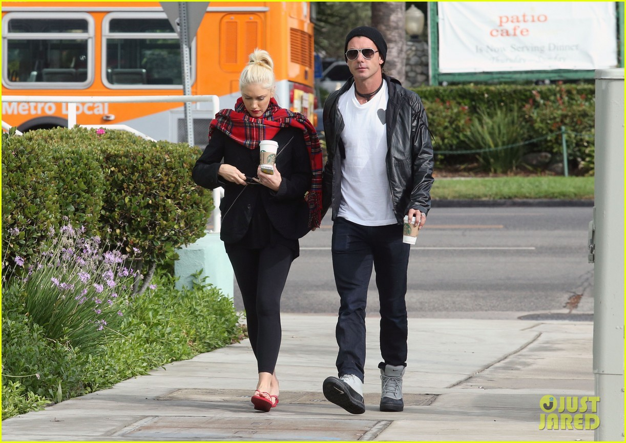 gwen stefani gavin rossdale coffee run studio city 15