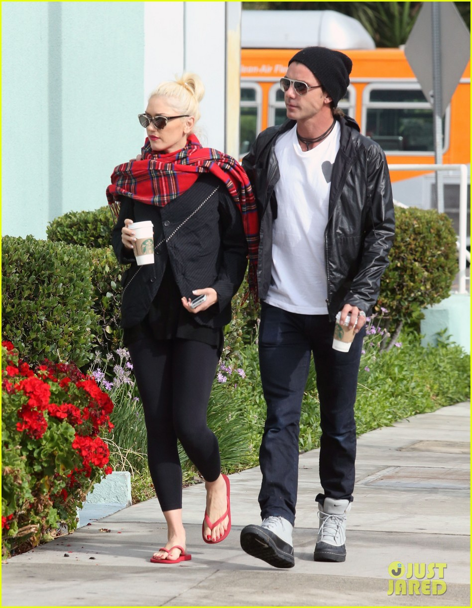 gwen stefani gavin rossdale coffee run studio city 17