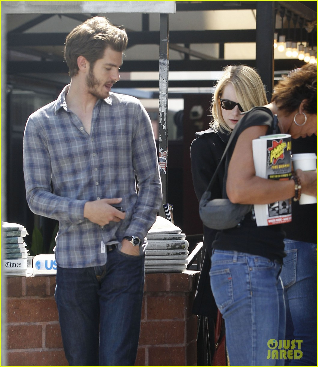emma stone andrew garfield book soup 042734505
