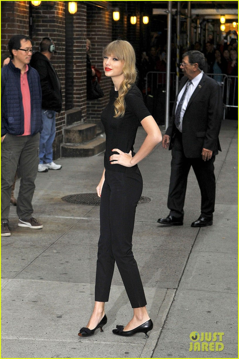 taylor swift late show with david letterman guest 07