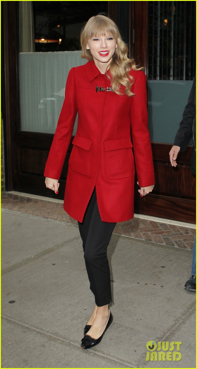 taylor swift late show with david letterman guest 16