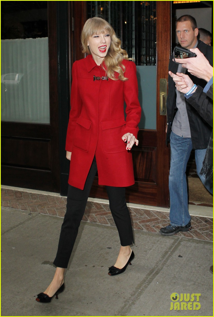 Taylor swift late show with david letterman guest