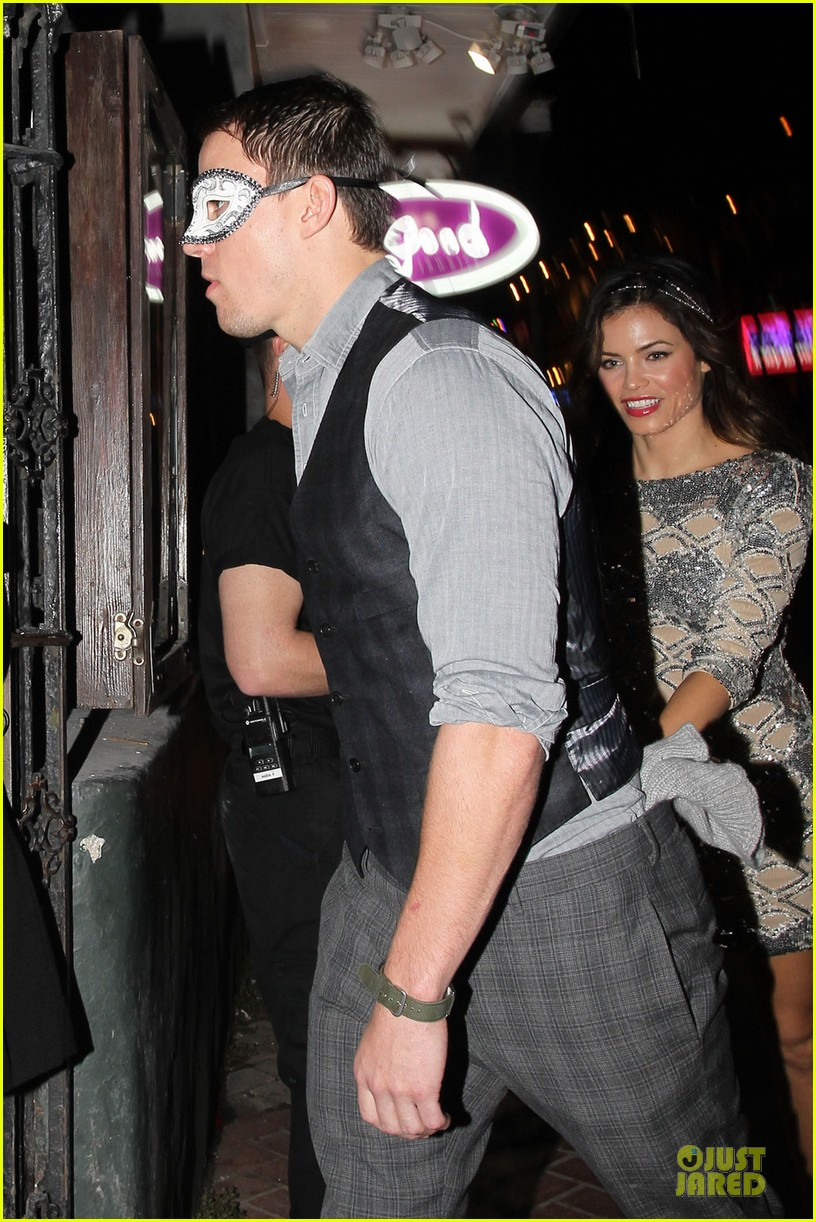 channing tatum jenna dewan saints & sinners grand opening 022735662