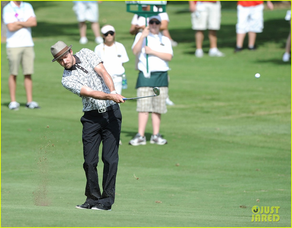 justin timberlake shriners hospital golf tournament 11